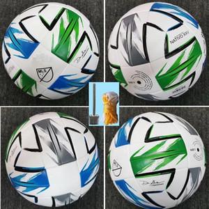 new American League high quality ball MLS Soccer ball 2020 USA Final KYIV PU size 5 balls granules slip-resistant football Free shipping