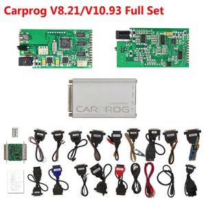 Keygen en ligne CARPROG 8.21 Adaptateur Voiture pleine Prog V10.93 / 8.21 Pour Airbag / Radio / Dash / IMMO / ECU programmeur Auto Repair Tool