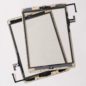 높은 품질 Ipad에 공기 5 터치 스크린 유리 패널 디지타이저 버튼으로 접착 조립 iPad 용 에어 아이 패드 2 3 4 5 미니 120 PC를