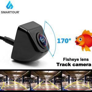170 Degree Angle Dynamic Trajectory cuver Line Car Rear View Reverse Backup Camera Fisheye Lens