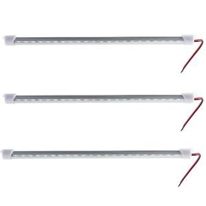 1PCS * 33.5cm DC12V / 24V 5730 LED 하드 경직 된 LED 스트립 바 빛 알루미늄 쉘 + PC의 커버 바 빛 5730