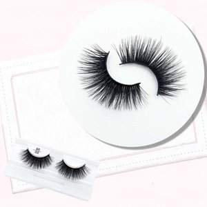 1 Pair Three-dimensional Multilayer Eyelashes Black Stalk Eyelashes Charming Fashion Lashes Professional Eyelash Extension Tool
