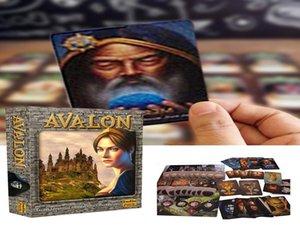 Eğlence Kartları Tarot ile Oyun Avalon Yeni dropshipping Sağlam İngilizce Dayanıklı Kurulu Tarot Kart Kılavuzu Kart EqWQu homebag Çalma