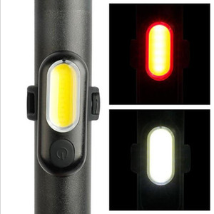 Велосипед свет Taillights велосипед фары Комплект светодиодных USB аккумуляторная задействуя задний свет Хвост Lightwaterproof и прочный A630