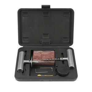 Car Tire Repair Kit Car Van Motorcycle Bike Tire Repair Tools Emergency Heavy Duty Tubeless Puncture Kit