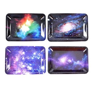 Smoking Roller Cartoon 180*125*15mm Wholesale Rolling Metal Tobacco Roll Tray Trays Hand Accessories bbyZV sweet07