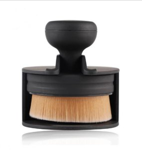 Pro Liquid Foundation Brush Face Base Round Flat Makeup Brushes BB Cream Powder Blush Large Brush Cosmetic Kits   by dhl 200sets
