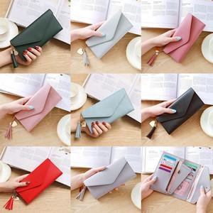 Mulheres Mulheres Carteira Moda Carteiras Multifunções PU Couro Mulheres Longa Design Bolsa de Cartão Feminino Titular Long Lady Clutch Bolsa Da932