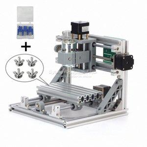 CNC1610 mit ER11 Minicnc Lasergravur-Maschine mit 10 Stück Bohrer Pcb Fräsmaschine CNC-Fräser uc2w #