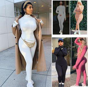 Diseñador mujeres del mono de los mamelucos del pijama para mujer Bodies manga larga Tamaño Dhl estilos de ropa 8732 Body Plus