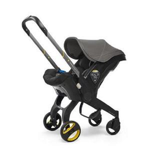 2020 asiento nuevo multifuncional de coches Cochecito de bebé del carro de la cesta Sistema portátil de viaje cochecito con asiento de seguridad para los 0-3 años 4-en-1