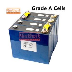 4PCS 3.2v135AH LIFEPO4 battery 2020 new Rechargeable Batteries cell for 24V120AH 135 RV SOLAR EV Marine EU US TAX VAT FREE