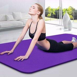 Yoga Mat суперплотной 6мм 173см х 60см Non Скольжение Упражнение / Тренажерный зал / Кемпинг / Picnic Hot Для начинающих Environmental Фитнес Гимнастика Mat