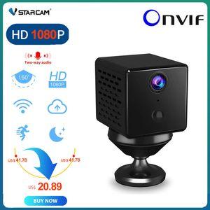 Vstarcam CB73 Mini IP Camera Battery Built-in 150 Degree Wide Angle Night Vision CCTV Battery Wifi Camera Baby Monitor 1080P