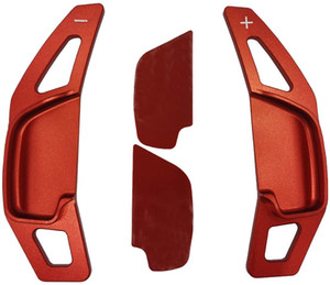 Aluminum Alloy Steering Wheel Shift Paddle for Toyota Camry 2012-2016,Corolla 2014-2018,Levin 2014-2018,Reiz 2010-2013 (red)