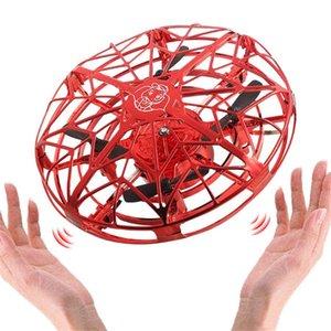 Anti-collision Hélicoptère volant Hélicoptère Magic Hand UFO Ball Airft Sensing Mini Induction Drone Drone Jouets Enfants Electronic