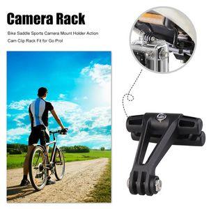 Bicycle Saddle Action Cam Clip Rack Bracket Bike Road Cycling Sport Camera Stabilizer Holder Seat Mount Bike Parts for