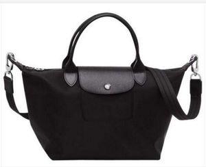 Delle donne calde della nave libera borsa Borse a tracolla della moda di Parigi borse pieghevole in nylon impermeabile Lady pacchetto sacchetto di svago Totes donna Dumpling 500