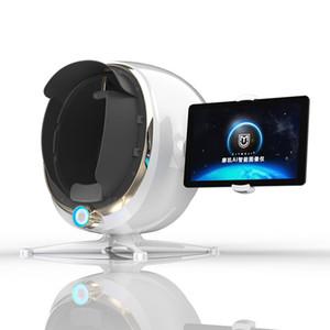 MAIS NOVO pele Analyzer AI inteligente Imagem Instrumento pele Detector Magic Mirror Digital 3D Facial máquina de análise