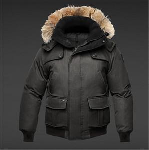 2019 Francia Nueva llegada de la venta de la chaqueta abajo capa de los hombres / Invierno Parka Venta en línea con el envío libre