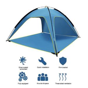 Outdoor Camping Tent alta qualità durevole impermeabile traspirante ventilato Large Size Sun Shelte Con SPF 50+ UV Protection Tenda