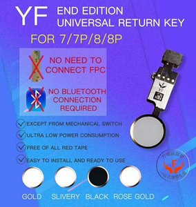 YF Universal Home Button Flex Cable for iPhone 7 8 Plus Menu Keypad Return On Off Fuction Solution
