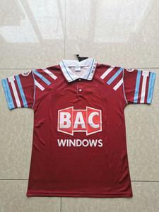 91 92 93 94 West Centenary Retro Jahre Cole Di Canio Lampard Dicks 1999 00 Trikot camiseta 100. 99 Retro 00 Startseite Ham Retro Fußball-Trikot