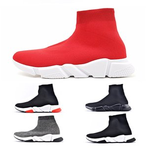 craze Luxury Designer Women Shoes Mens Sock Speed Trainer Sneakers Knitting Slip-on High Quality Casual Sports Shoe Comfort Chaussures