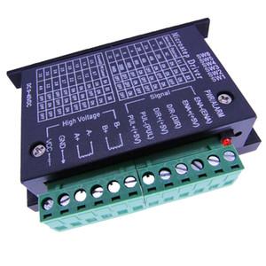 Conductor del motor de pasos del CNC 4.0A 9-42VDC 1/128 Resoluciones del micro-paso para Nema 42/57/86 motor paso a paso