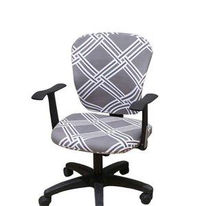 Escritório moderno computador Cadeira Coberta divisão Protective Esticável tecido de poliéster Universal Desk Chair Task Covers estiramento