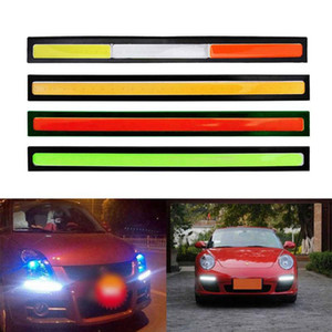 20x 17cm COB DRL led Driving Daytime Running Lights Strip DRL Bar Aluminum Stripes Panel Car Working Lights 12V COB LED