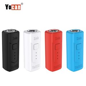 100% original YOCAN Kodo Vape caja Mod 400mAh batería ajustables Mods de cigarrillo electrónico de tensión para 510 Tema del atomizador vaporizador