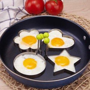 Drôle silicone oeufs Anneaux antiadhésives Omelette moule oeuf pour le bricolage Petit déjeuner Egg Fried crêpes Moisissures Lapin crâne de cuisine Outils