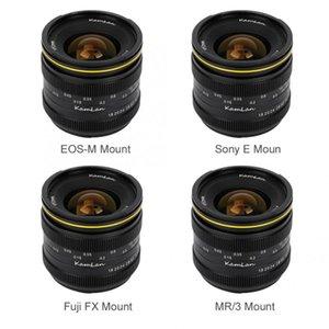 Kamlan 21mm F1.8 Портативный водонепроницаемый беззеркальных камеры Руководство Fix Фокус Prime Lens для Fuji FX / M4 / 3 Ручная фокусировка объектива