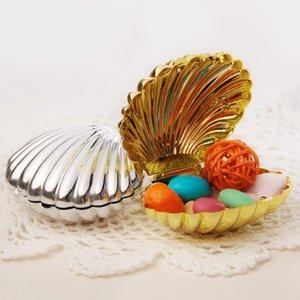 Favor de la boda caja DIY brillante colores de la carcasa del partido Forma fuentes de la joyería Sorpresa Caramelo Almacenamiento La hora del té cumpleaños Caso GWB1839