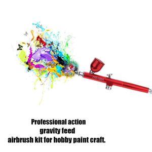 Portable Mini Size Spray Pump Pen Air Compressor Set for Art Painting Tattoo Craft Cake Spray Model Airbrush Kits