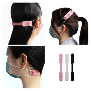 Silicone Face Mask Extender Prevent Ear Pressure Adjustable Mask Hook Extension Mask Buckle Comfirtable Ear Strap HHD1600