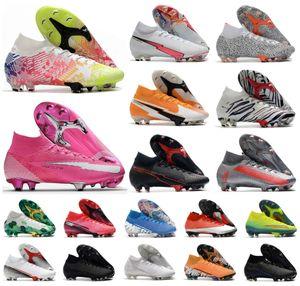 2020 Mercurial Superfly VII 7 360 Elite SE FG CR7 Rosa Panther Ronaldo Neymar Mens dei ragazzi scarpe da calcio Scarpe da calcio tacchetti US3-11