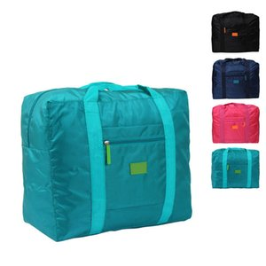Al por mayor portátil a prueba de agua de la ropa interior de nylon del organizador del bolso del equipaje del recorrido de la maleta de almacenamiento embalaje del bolso del organizador del bolso J2Y