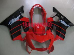 Spritzguss Karosserie-Kits für schwarz feuerrot HONDA CBR 600 F4 fairings 1999 2000 cbr 600 CBR600 99 00 Verkleidung Kit Cowling Geschenke