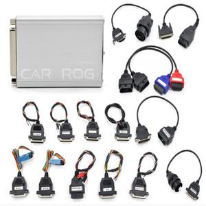 Haute qualité CARPROG pleine V10.93 avec 21 Adaptateur support Airbag Réinitialiser Version la plus récente CARPROG V10.93
