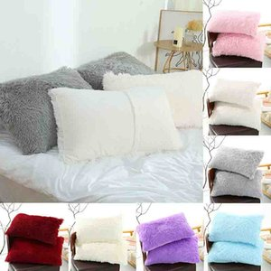 50 * 70cm Plüsch Kissenbezug Pillowslip Klassische Kopfkissenbezug Werfen Warm Kissen Abdeckung Sweet Home Supplies Schlafen Pillowcase