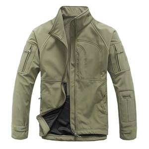 Outdoor Esporte Softshell TAD Tactical Jacket Men Camouflage Exército Hunting roupa impermeável Coats Caminhadas Camping Jackets