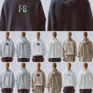 qOjaL CLO T suéter de moda de tres partes de pegatina bordado Cartas de algodón de rizo par de alta calidad de la unión con capucha