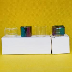 Tubo di vetro per serbatoio Kayfun V4 Cancella tubo normale con 1pc / casella 3pcs / box 10pcs / box pacchetto al dettaglio