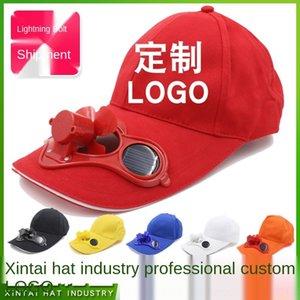 RBT2s estate solare cotone cappello da sole solare con appassionato di baseball berretto da baseball cap fan pubblicità