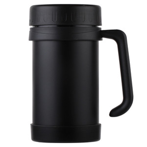 Hot Sale 500Ml 17Oz Thermo Mug Stainless Steel Vacuum Flasks With Handle Thermo Cup Office Thermoses For Insulated Cup