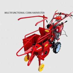 2020 El itin Dizel Motor Satılık Single Row Corn Harvester / Mısır Orak Makinası Driven