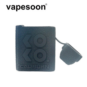 Caliburn KOKO-Silikon-Kasten-Leder-Linie Oberflächen Haut Fällen Bunte Caliburn Koko Pod Kit Soft-Silikon-Hülsen-Abdeckung DHL-freies