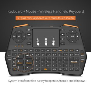 Mini Wireless Gaming Keyboard 2.4GHz Air Mouse Keyboard Remote Control Touchpad Para Smart TV Tablet Laptop Xbox 360 PS4